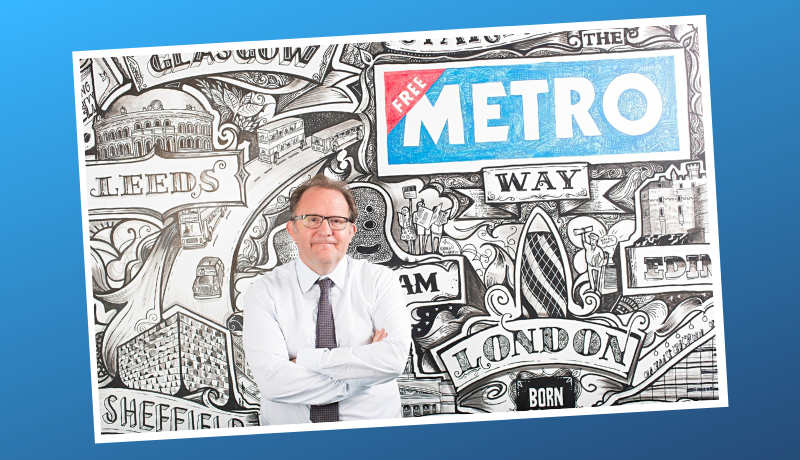 Metro editor Ted Young